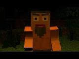 Легенда о Херобрине (Короткая Minecraft Анимация)