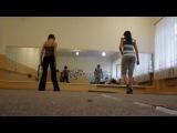 Учим движения на флэшмоб 2 (вид со спины)
